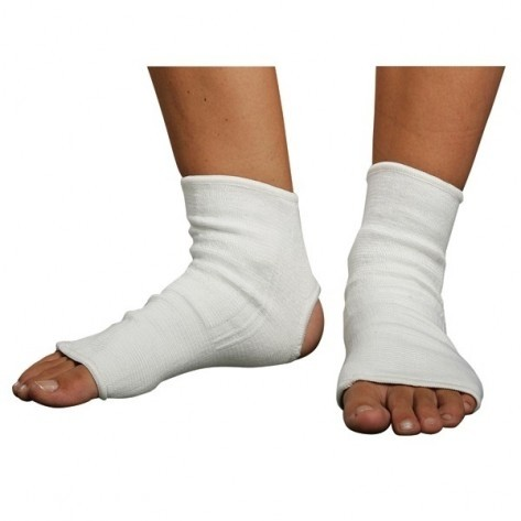 Martial Arts Ankle Protector, White