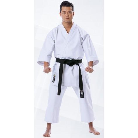 Tokaido WKF Kata Master Gi - Silver 12oz Japanese Cut