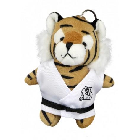 Plush Martial Arts Tiger Keychain