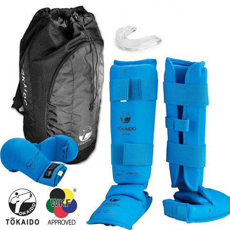 Tokaido Blue WKF Sparring Gear Set