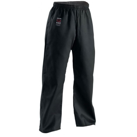 Tokaido Karate, Training Black Pants, 10oz - American Cut