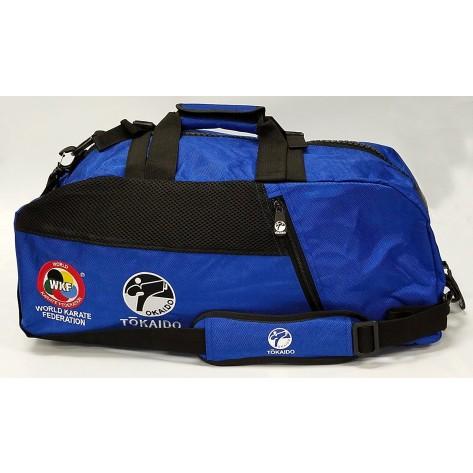Tokaido Karate WKF Big Zipper Blue Bag