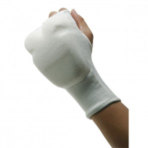 Martial Arts Fist Protector, White