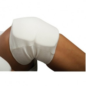 Martial Arts Knee Protector, White