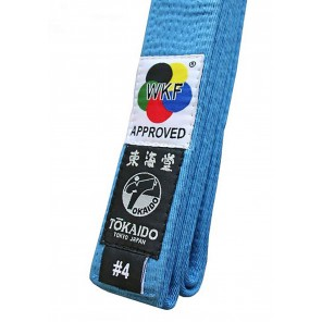 Tokaido Karate Elite WKF Sky Blue Belt
