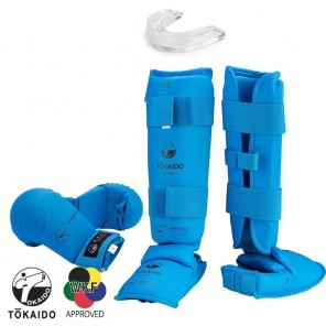 Tokaido Blue Sparring Gear Set