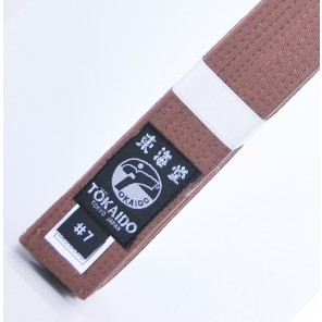 Tokaido Karate Elite Brown Belt
