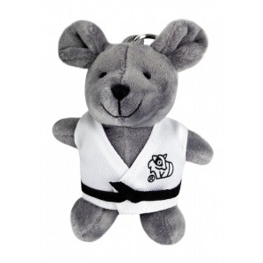 Plush Martial Arts Mouse Keychain
