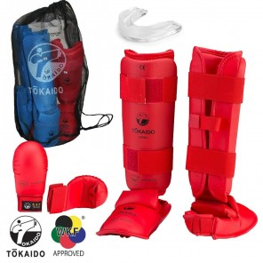 Tokaido Red Sparring Gear Set