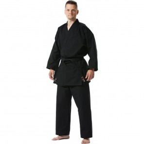Tokaido Karate, Tsunami Training Black Gi - 10oz American Cut