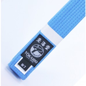 Tokaido Karate Elite Sky Blue Belt