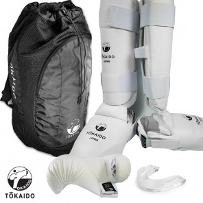 Tokaido White Sparring Gear Set