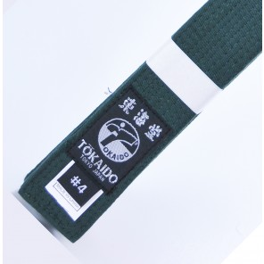 Tokaido Forest Green Karate Belt
