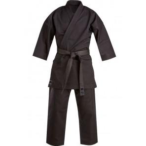 Tokaido Karate, Kata Master Gi, Black - 12oz Japanese Cut