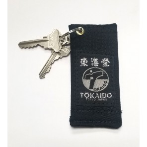Tokaido Black Belt Key Chain