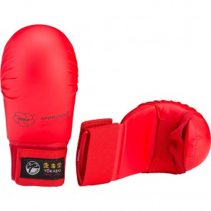 Tokaido Karate WKF Sparring Gloves Red
