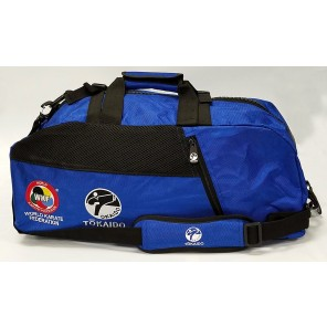 Tokaido Karate WKF Big Zipper Blue Bag