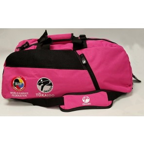Tokaido Karate WKF Big Zipper Pink Bag