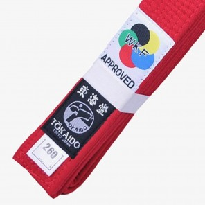 Tokaido Karate Elite WKF Red Belt