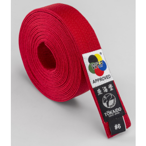 Tokaido Karate Elite WKF Red Belt