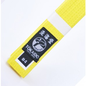 Tokaido Yellow Karate Belt