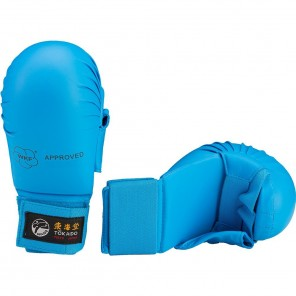 Tokaido Karate WKF Sparring Gloves Blue with Thumb