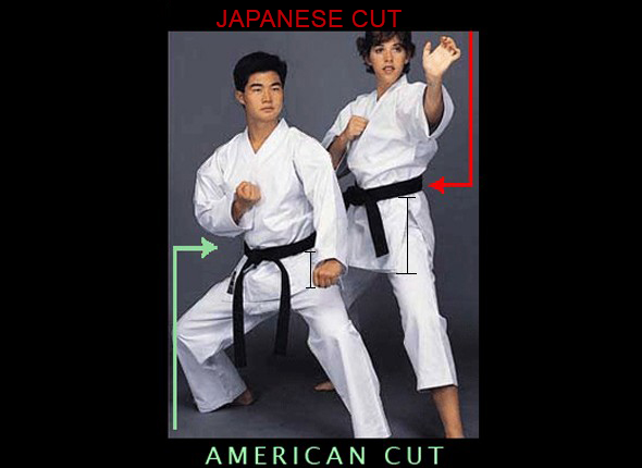 Japanese Cut vs American Cut