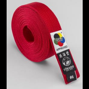 Tokaido Karate Belt, Red